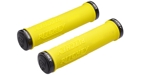 Ritchey WCS True Grip X handvatten Lock-On geel
